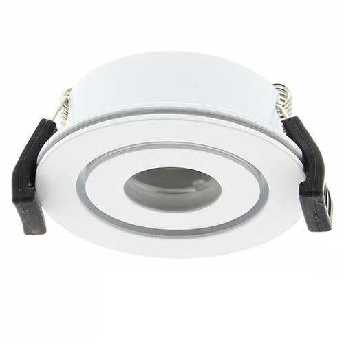 Venice XPG LED inbouwspot Klemko wit LED warmwit 2,5W 876738